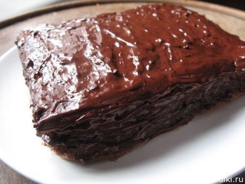 рецепты шоколадного торта
