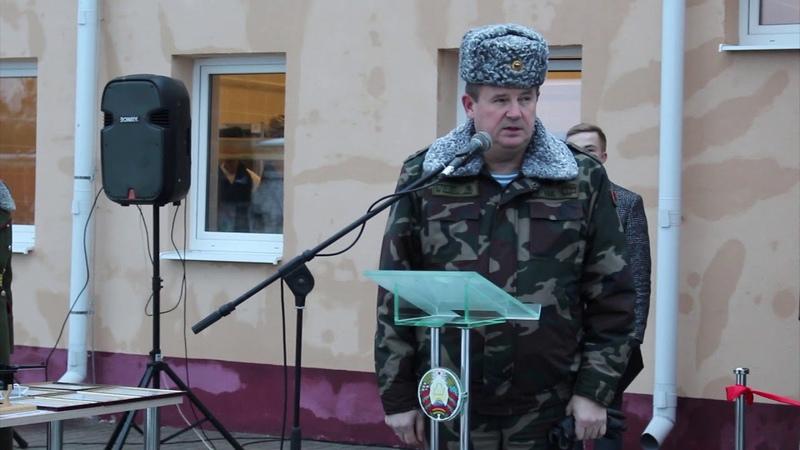 Открытие солдатской бани на Фолюше
