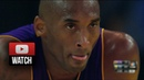 Kobe Bryant Erases 19 Points Deficit vs Stephen Curry and Klay Thompson