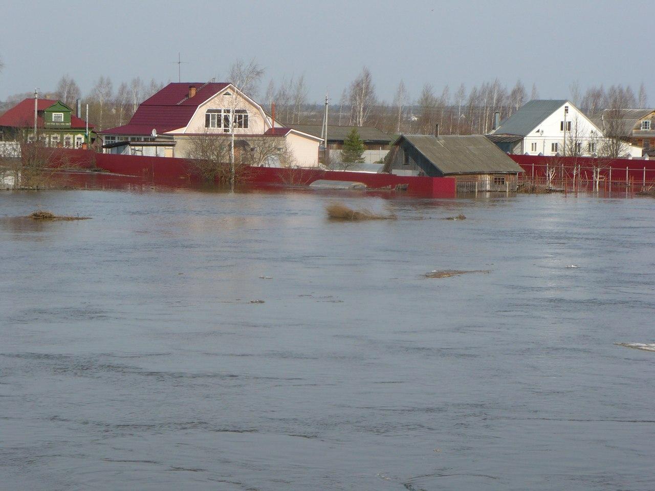 Наводнение в Тургиново