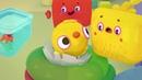 Четверо в кубе Настоящий динозавр серия 9 современные мультики для детей