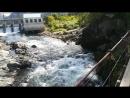 Мост через реку Чемал Чемальская ГЭС