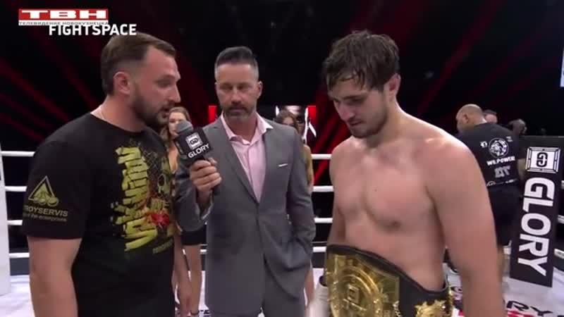 Артем Вахитов успешно защитил пояс чемпиона по кикбоксингу