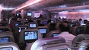 Emirates A380 800 Amazing Takeoff From Dubai to London Night Landing At Heathrow