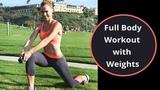 Julie Bognar - Full Body Workout with Weights | Интервальная тренировка для похудения и от проблемных зон