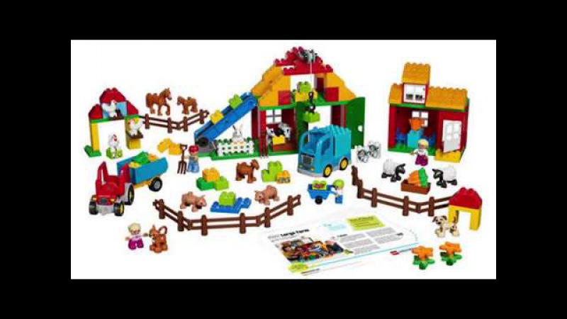 Большая ферма DUPLO LEGO Education PreSchool 45007 купить оптом и в розницу в