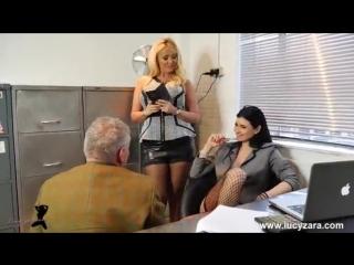 Boss bitch turn office boy to foot slave [foot fetish Footjob ноги ножки пороно ]