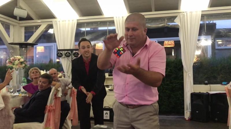 Олег Зубков Свадьба в RiverSide Фокус с кубиком Рубика