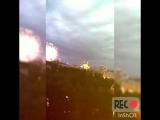 Седьмое небо в день города Пермь