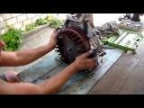 Ремонт двигателя мотоблока. Обрезанная шпонка маховика