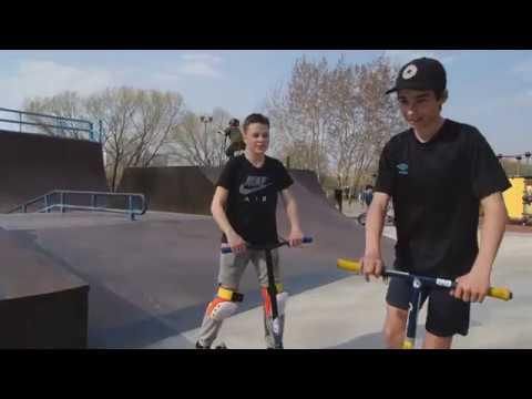Game of scoot - Гоша vs Леша в скейтпарке Братеево