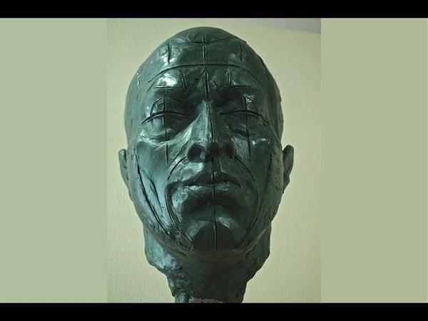 Уроки скульптуры и рисунка лепка головы часть 5 детализация