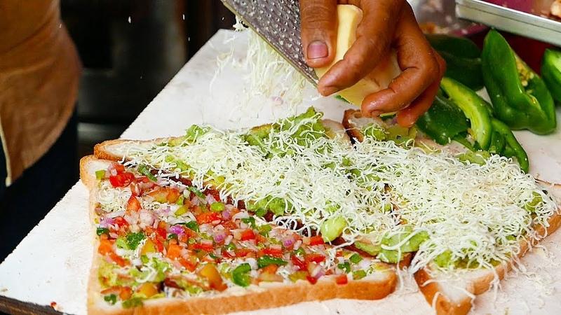 Indian Street Food SUPER FAST Sandwich Man