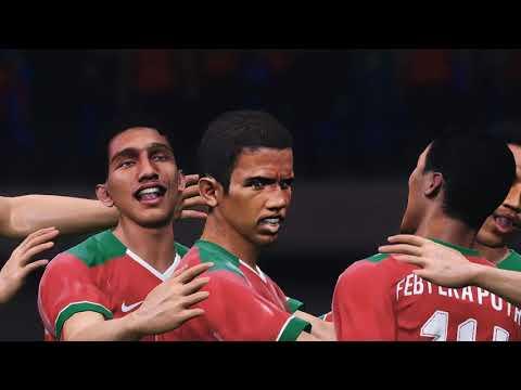 Indonesia vs Vietnam 5 0 AFF U19 Championship Indonesia 2018 Egy MV's Acrobatic Goal