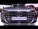2018 Audi A8 50 TDI Quattro - Exterior and Interior Walkaround - 2018 Geneva Motor Show