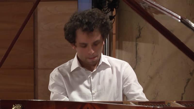 859 J. S. Bach - Prelude and Fugue in F-sharp minor, BWV 859 [Das Wohltemperierte Klavier 1 N 14] - Benjamin dAnfray, piano