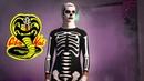 Cobra Kai - Ep 3 Esqueleto skeleton costume