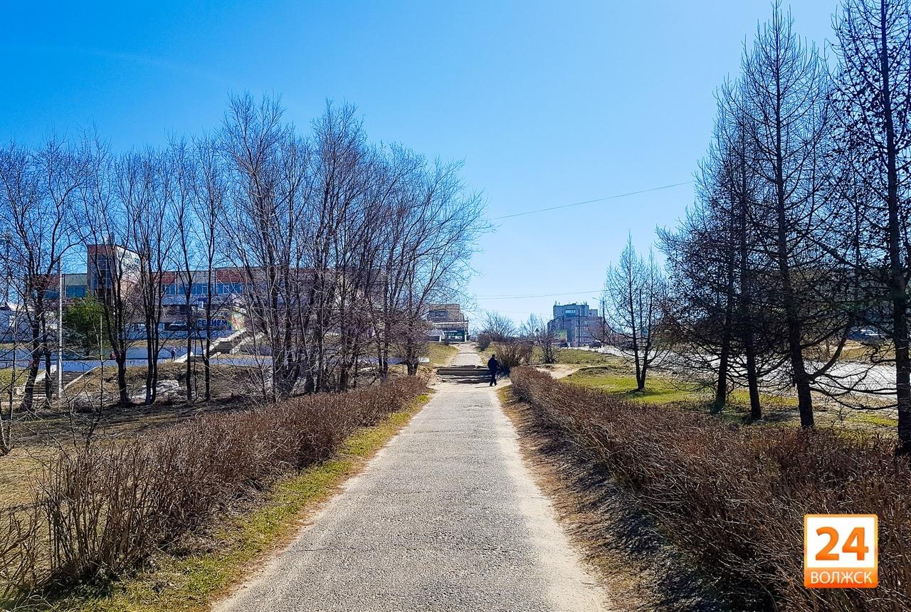 В Волжске благоустроят тротуары на Машиностроителе и три двора
