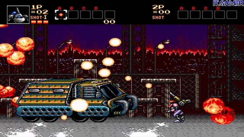 CONTRA: HARD CORPS - NEW BROWNY (BLUE) WEAPONS v1