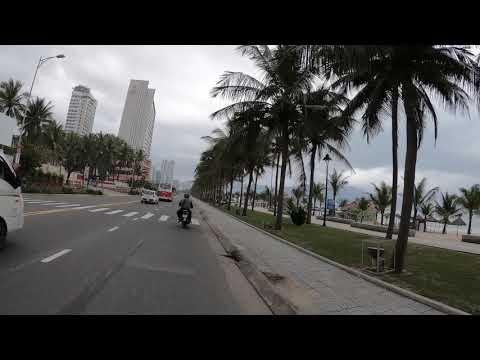Первая линия от моря Дороги в Да Нанге 01 02 2019 Дананг Вьетнам Da Nang Vietnam