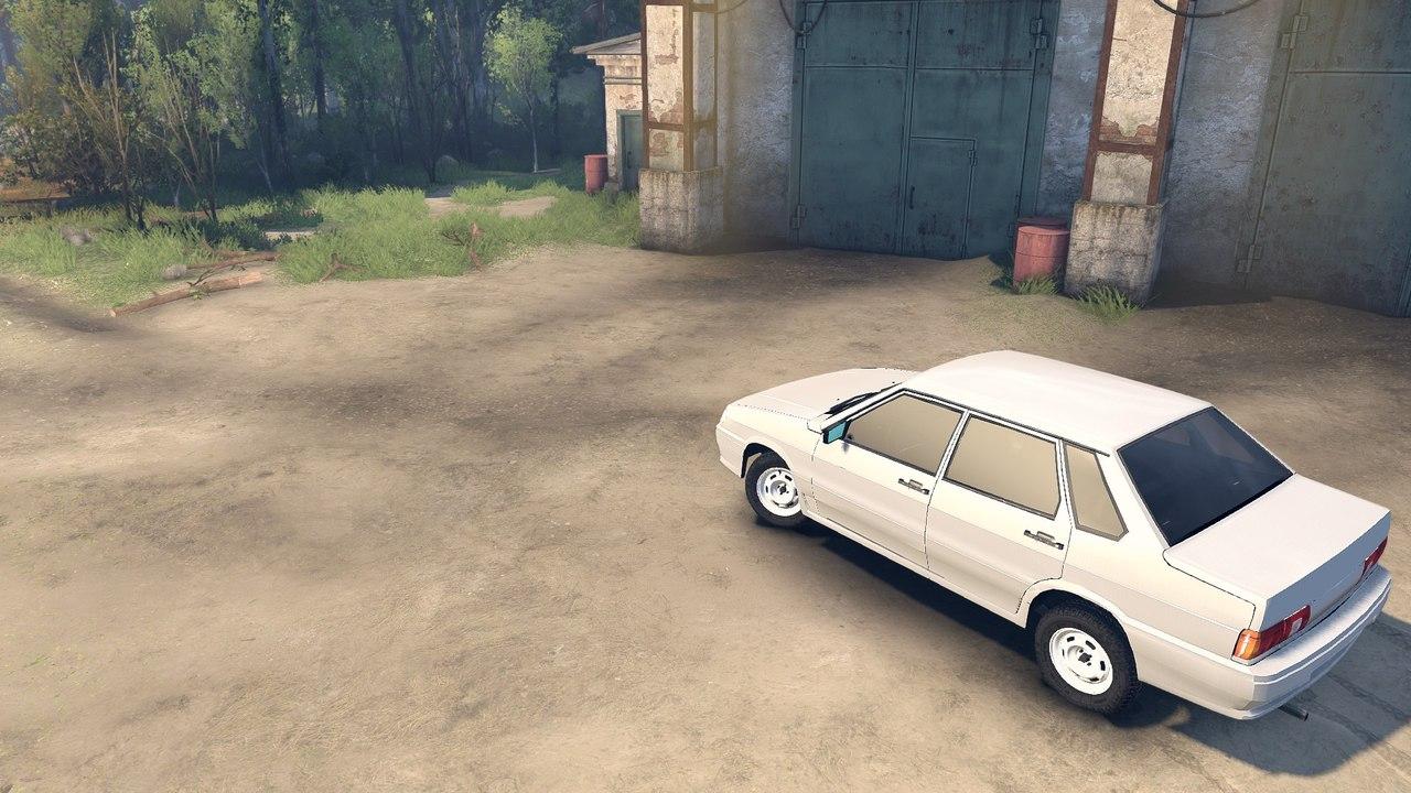 Лада 2115 для Spintires - Скриншот 2