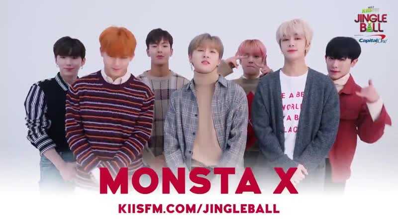 [VK][181018] MONSTA X message @ JINGLE BALL Festival in Los Angeles