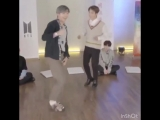 here's a little compilation of joon being cute and hyper in their behind the answer live today
