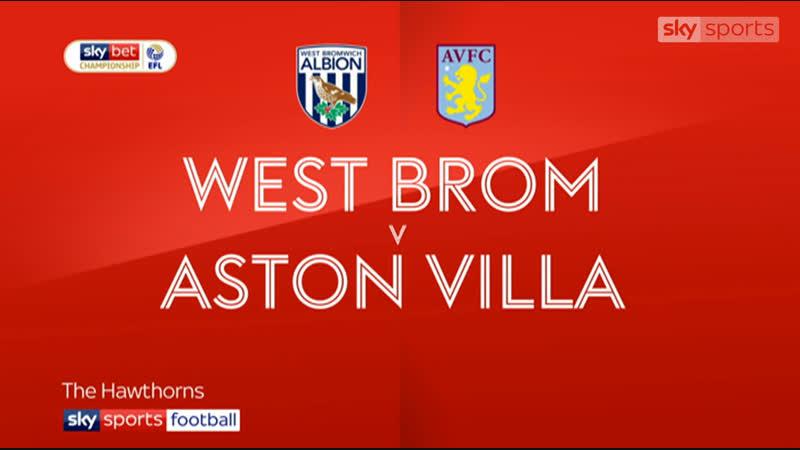 Обзор матча / «Вест Бромвич» - «Астон Вилла» 2:2 / Чемпионшип / 21-й тур