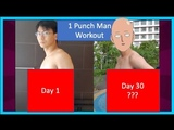 I Trained Like Superheroes For 30 Days (Amazing Transformation) One Punch Man Challenge