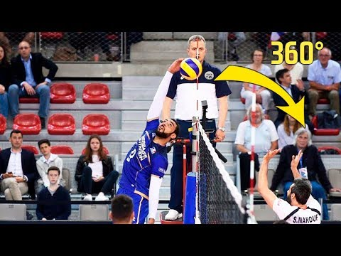 TOP » 10 Crazy Actions by Earvin N'Gapeth | Volleyball Nations League 2018