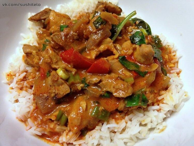 куриное филе по тайски рецепт с фото