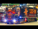 AMAZING RC MODEL TRUCK ACTION *SCANIA*MAN*MB ACTROS PART3 / Fair Erfurt Germany 2017