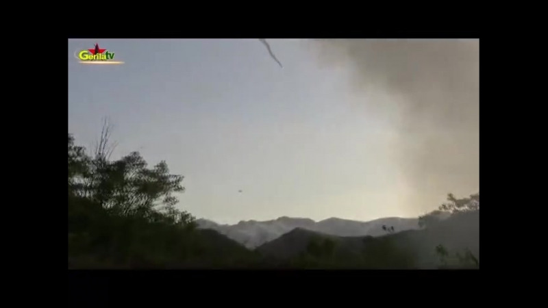 Курды сбивают турецкий вертолет из ПЗРК