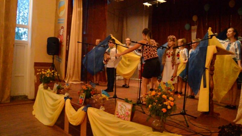 Урочисте відкриття святкового концерту Розквітай моя Україно