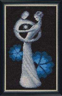 """схема вышивки Рождение из серии  """"Линия жизни """".  Вязание и рукоделие.  Гуманитарные."""