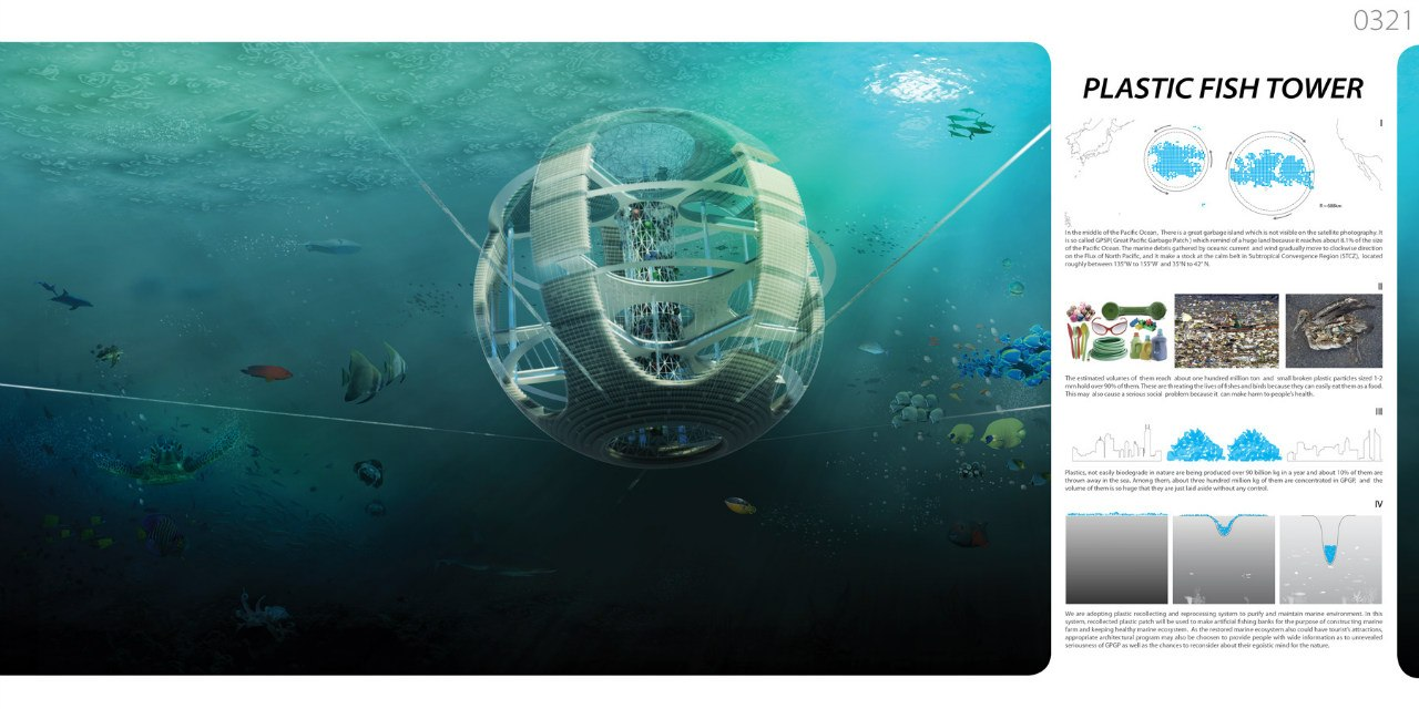 Plastic Fish Tower  (Проект