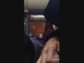 Bus public dick flashing