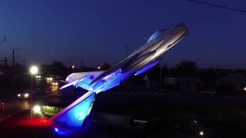 Самолёт МиГ-15 Курганинск