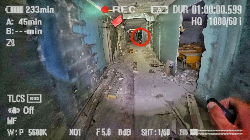 Побег от мутанта в заброшенной школе Мутанты Чернобыля напали на сталкера в Припяти