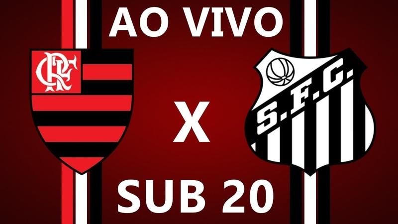 FLAMENGO X SANTOS AO VIVO HD 720p BRASILEIRÃO SUB 20 12 07 2018