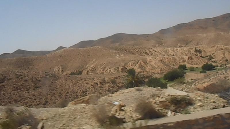 *мв*-Тунис,Атласские горы