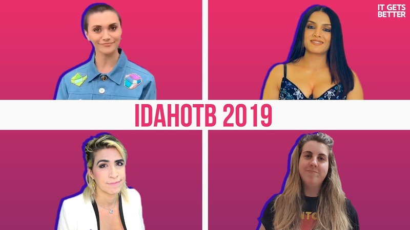 Alyson Stoner Asks What are you going to do to take action for IDAHOTB