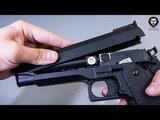 Страйкбольный электропневматический Cyma Hi Capa AEP CM128 Colt 1911 видео обзор