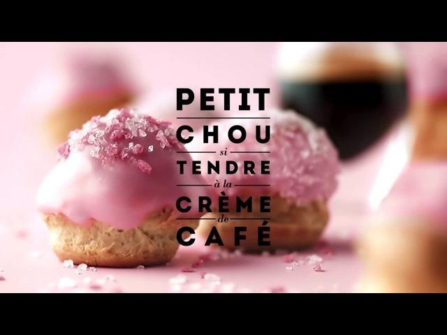 ROSE by Carte Noire: Mes petits choux rose-café