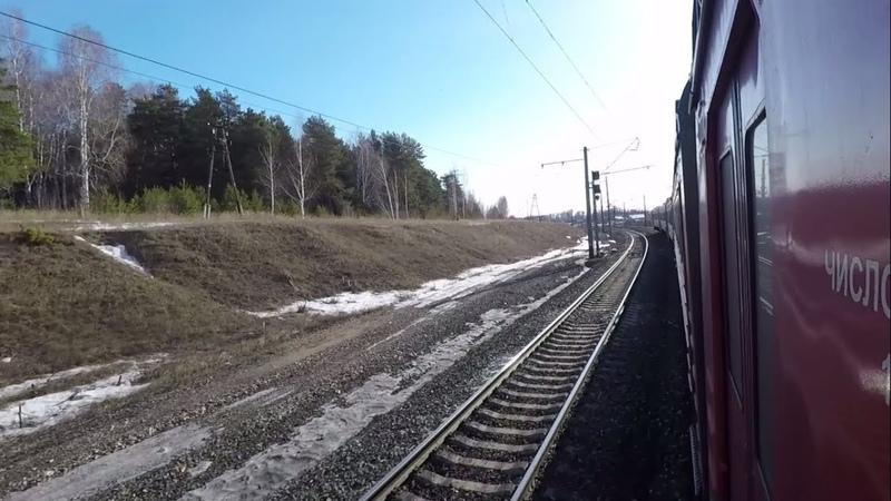 Путешествие на электричках Казань - Ижевск