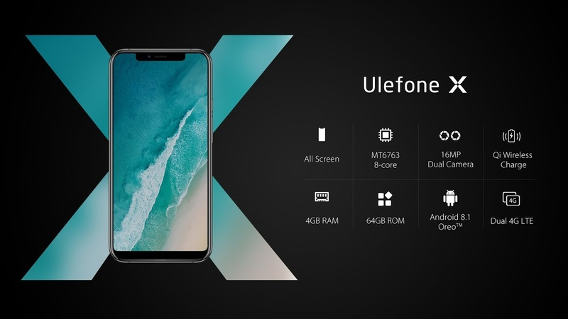 Notch Screen Ulefone X Official Introduction
