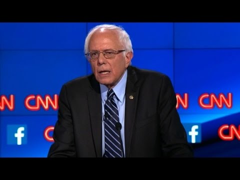 (Democratic Debate) Bernie Sanders explains Democratic Socialism