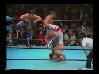 1992.02.22 - Toshiaki Kawada/Tsuyoshi Kikuchi vs. Dan Kroffat/Doug Furnas