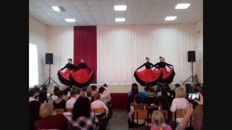 Конкурс танца 2018. Мои испанки