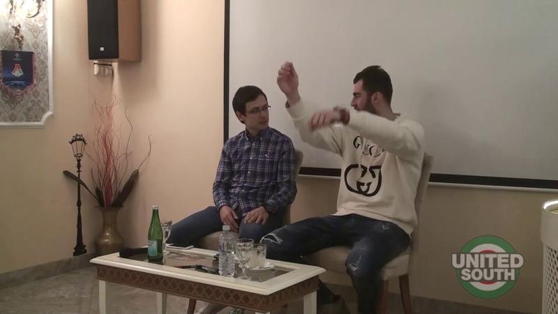 UnitedSouth.ru   Встреча болельщиков с Соломоном Кверквелией (03.12.2018)